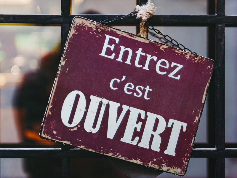 Apertura negozio in Francia Alhena